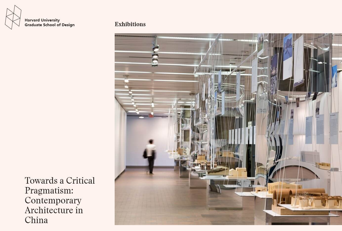 Harvard GSD-Toward a Critical Pragmatism: Contemporary Architecture in China