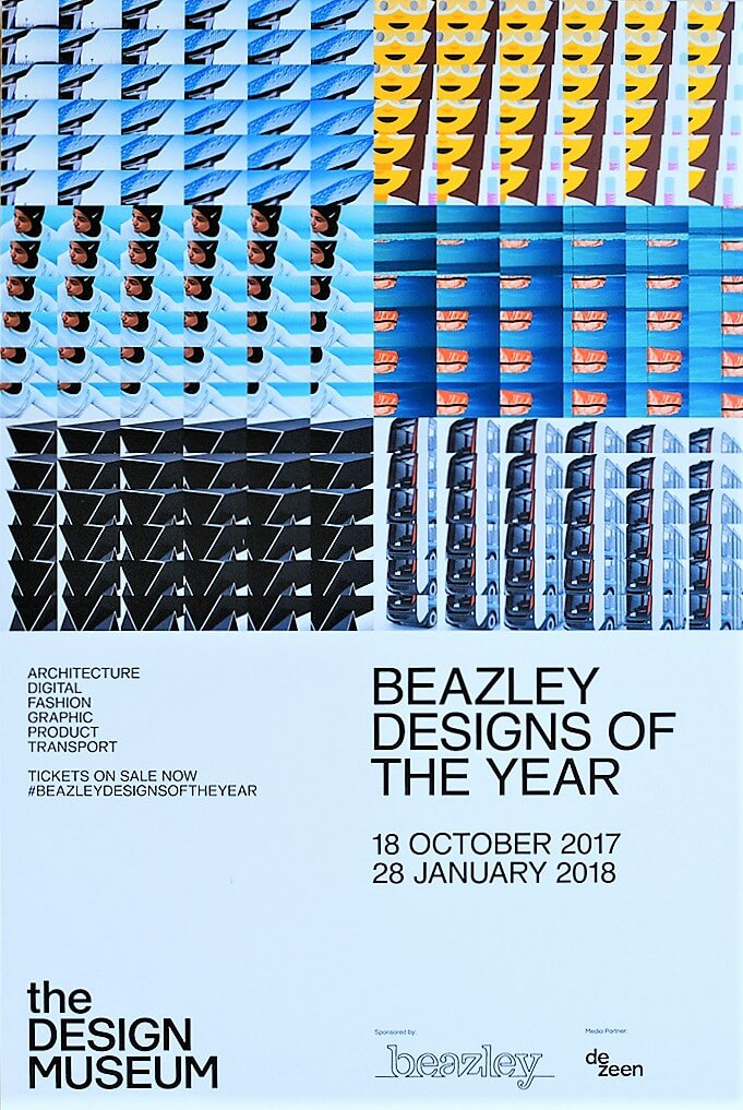2017 London Design Museum,Beazley Designs of the Year