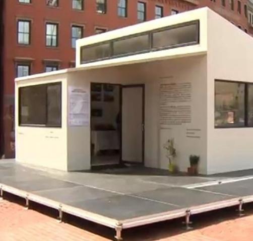 CBS Boston: 插件家波士顿市政厅搭建