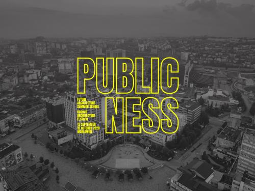 Online Talk at Kosovo Architecture Festival