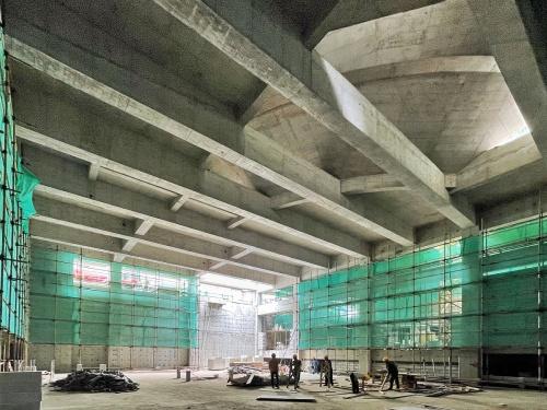 Shenzhen Fuqiang Primary School is under construction